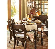 Jacquelyne Dining Chair Pottery Barn Table And Chairs