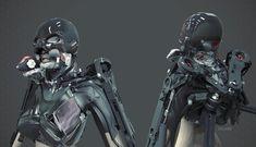 Riot Girl Suit, Lee Souder on ArtStation at http://www.artstation.com/artwork/riot-girl-suit