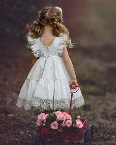 New Photography Wedding Children 31 Ideas Little Dresses, Little Girl Dresses, Girls Dresses, Flower Girl Dresses, Girls Summer Outfits, Kids Outfits, Toddler Fashion, Kids Fashion, My Baby Girl