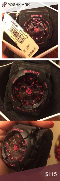 Women's Pink & Black ((Baby G Shock Watch)) Pink & Black Other