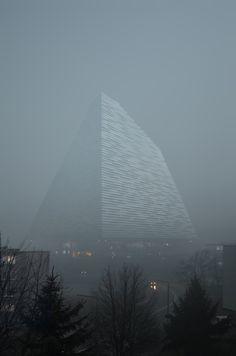 #Piktorial#architecture #visualization#foggy#rendering#somewhere#in#switzerland