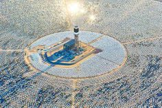 #architecture #israel #powerplant #solar