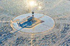 #architecture #israel #powerplant #solar