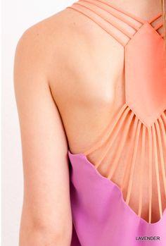 Sideline Sass Boutique - Diamond Back Top