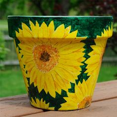 Paint a Terracotta Pot paint a pot Costello. K and I want to paint some pots, thought of you when I saw this one.paint a pot Costello. K and I want to paint some pots, thought of you when I saw this one. Painted Clay Pots, Painted Flower Pots, Hand Painted, Painting Terracotta Pots, Painted Pebbles, Flower Pot Crafts, Clay Pot Crafts, Flower Pot Design, Pottery Painting Designs