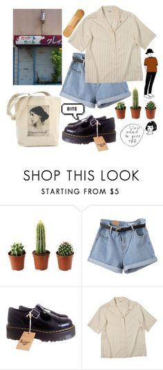 """49"" by ourijimin ❤ liked on Polyvore featuring Pupa and Dr. Martens"