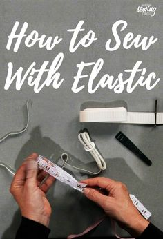 Whether in the waistband of pants, around the bottom of a sleeve, or on any home décor item, inserting elastic can be tricky. ZJ Humbach teaches both old and new methods to make inserting any size of elastic easy. If you don't have any tools on hand, a safety pin can help you slide the elastic through a casing. If you'll be inserting a lot of elastic or just want to make things even easier, a bodkin is the answer.