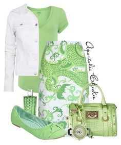 Green Dragon by apostolicchickie on Polyvore