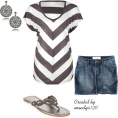 Casual Grey, created by mandys120 on Polyvore