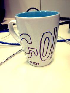 Meio da tarde, mas o caminho é longo, um café para energizar! www.diariodebordo.net.br #cafe #cafeina #go #energia #fimdesemana