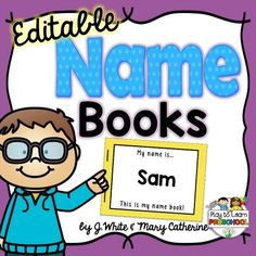 A simple way for teaching young children about their names. Names are the jumping point to many other literacy activities, so name kits are a great start!
