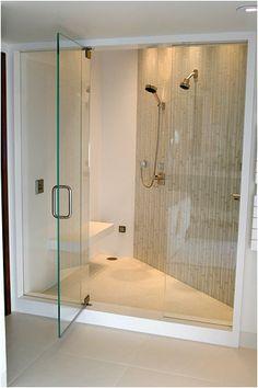 Bathroom Shower, Beautiful Tile, Clean Lines