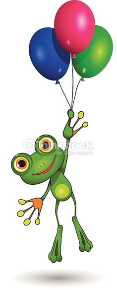 frog balloon - Google Search
