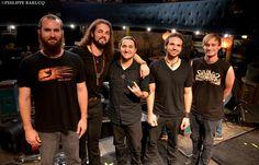 """Hier, The SixxiS était en promo à l'Enorme TV et en concert au Divan Du Monde pour la sortie de leur nouvel album """" Hollow Shrine """" !  Leur message : https://www.youtube.com/watch?v=I6gHsND0POE&feature=youtu.be"""