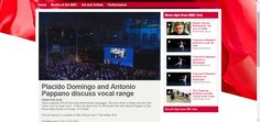 BBC - BBC Arts, Placido Domingo and Antonio Pappano discuss vocal range