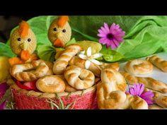 Πασχαλινά κουλουράκια - Νόστιμα & Αφράτα - YouTube Greek Cookies, Easter Art, Muffin, Traditional, Meat, Chicken, Breakfast, Food, Google