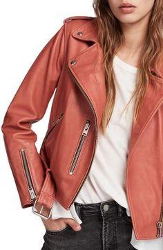6672415fb91e AllSaints Balfern Biker Jacket Coats For Women