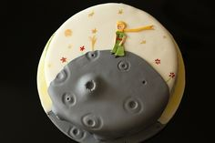 cake by anca at http://www.cookiejar.ro. love the little prince; love this cake!