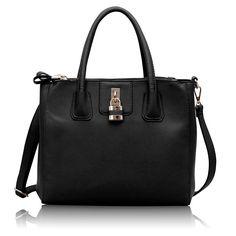 MK Design 3 ZipLock Black Loki, Handbags, Black, Women, Design, Fashion, Totes, Moda, Black People