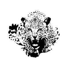 Jaguar Vector, Life Tattoos, Tattoos For Guys, Vector Design, Vector Art, Adobe Illustrator, Motif Jungle, Stencils For Wood Signs, Yorkie