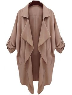 SHARE & Get it FREE | Long Sleeve Solid Color Trench CoatFor Fashion Lovers only:80,000+ Items • New Arrivals Daily Join Zaful: Get YOUR $50 NOW!