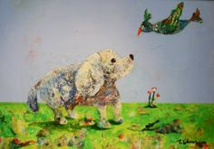 The Meeting by RIITTAKALENIUSART on Etsy, $1000.00
