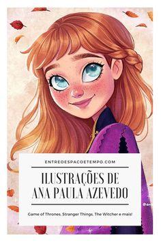 Ana Paula sabe como ninguém criar desenhos digitais de nossos personagens favoritos! Conheça agora no blog o trabalho dessa ilustradora talentosa e suas artes super fofas e incríveis!