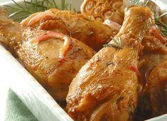 Receta de Piernitas de pollo a la cerveza en TQMA de Pronaca