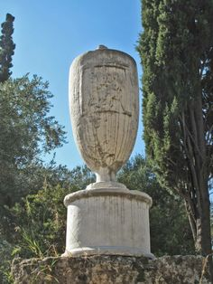 Ancient funerary Vase, Ancient Cemetery of Kerameikos, Athens