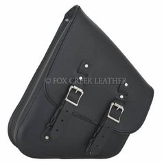 Leather Swing arm Bag | $216.00 | Fox Creek Leather Carries Only The Highest Quality, Made in USA Leather Motorcycle Jackets, Products, Clothing Leather Goods.