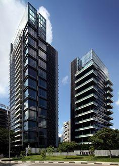 The Marq on Paterson Hill Luxury Condo, Luxury Apartments, Zion Road, Scda Architects, Alexandra Park, Modern Condo, Pent House, Facade, Skyscraper