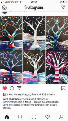 Snowy Christmas Tree, Christmas Ideas, Artwork Ideas, Colored Pencils, Winter, Artist, Instagram, Colouring Pencils, Winter Time