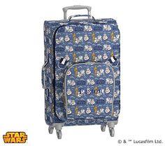 Large Spinner Luggage, Star Wars(TM) Droids(TM) Allover Print