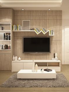 Modern Tv Room, Contemporary Living Room Furniture, Modern Tv Wall Units, Tv Unit Interior Design, Tv Unit Furniture Design, Modern Tv Unit Designs, Living Room Tv Unit Designs, Simple Tv Unit Design, Home Room Design