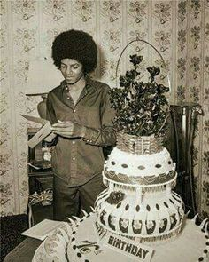 Michael Jackson during his teenager years