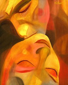 Love Painting - Romeo And Juliet by Hakon Soreide Painting Love Couple, Arte Latina, Art Amour, Arte Pop, Erotic Art, Painting Inspiration, Amazing Art, Watercolor Art, Fine Art America