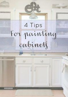 4 tips for painting cabinets, how to, kitchen cabinets, painting cabinets