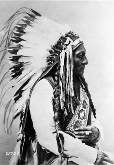 """I am a red man. If the Great Spirit had desired me to be a white man he would have made me so in the first place"" - Sitting Bull"