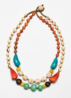 La Jolla Necklace. ~made from sustainable seeds by a group of artisans in Ecuador!
