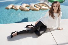 I need these pants! #LeightonMeester #Nelly