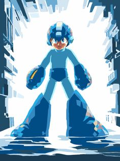 The ol' blue bomber. There's something amazing about the simplicity of a game about a robot who just jumps and shoots.