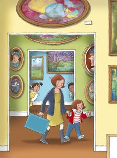 Praatplaat museum Rembrandt, Kids Class, Everyday Activities, Art Classroom, Vincent Van Gogh, Cartoon Images, Childrens Books, Illustrators, Art For Kids