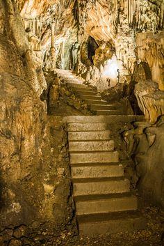 De Vranjača grotten (Split, Dalmatië)