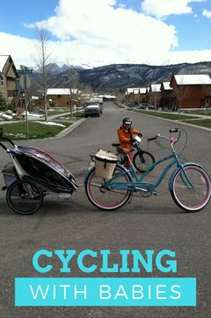 Cycling with babies | Tips on how to cycle with your infant and even newborn. Click to read how and share your story.