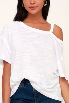 0907efa92 17 White T-Shirts You ll Want to Live in All Dang Summer. White T  ShirtsBest White ShirtWhite TeesPretty ...