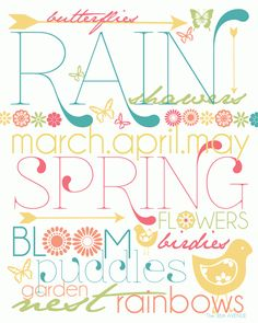 graphic regarding Spring Printable referred to as 22 Great Spring printables illustrations or photos inside 2017 Spring