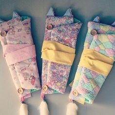 I have some Kimono Kitten Blythe carrier bags available in my Etsy store  #blythe #custom #doll