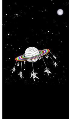 space astrontaut Wallpaper by susbulut - - Free on ZEDGE™ Pop Art Wallpaper, Phone Screen Wallpaper, Cute Wallpaper Backgrounds, Mobile Wallpaper, Cute Wallpapers, Iphone Wallpaper, Alien Aesthetic, Aesthetic Space, Space Artwork