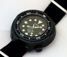 Seiko Diver watch, Grandfather Tuna, (6159-7010)