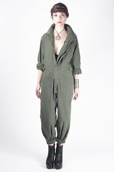 8846e82c0f2 Laced With Romance - MILITARY OVERALL JUMPSUIT